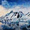 Antarctica original painting