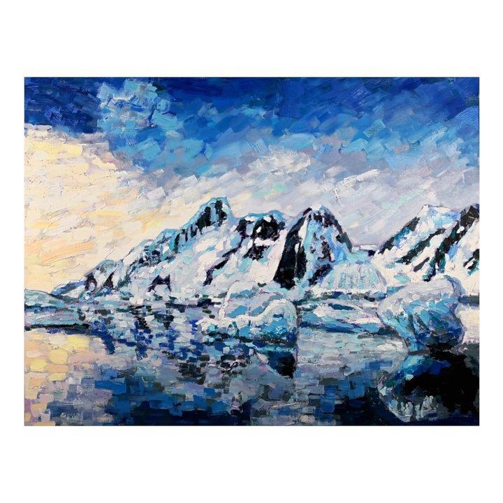 Antartica original painting