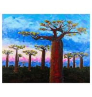 Baobabs painting cover