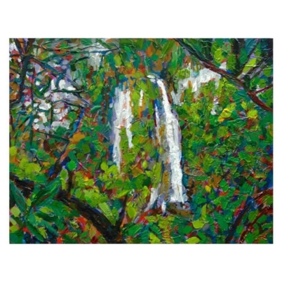 Waterfall original painting