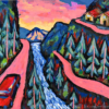 Andean Roads original painting