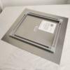 Metal print square back