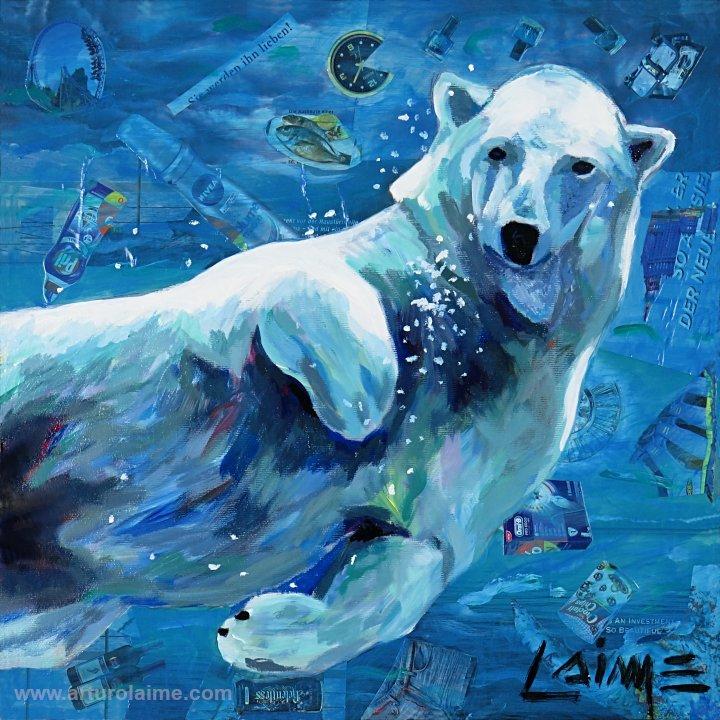 Polar bear by Arturo Laime