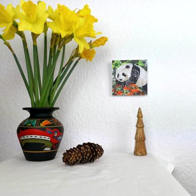 Mini Panda art print environment