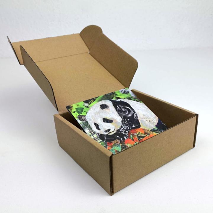 Mini Panda gift box inside