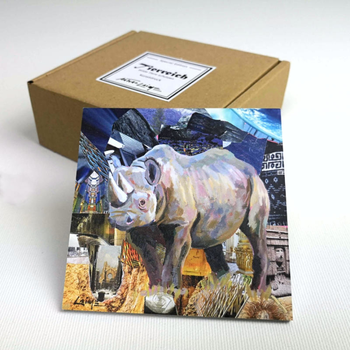 Spitzmaulnashorn mini box set