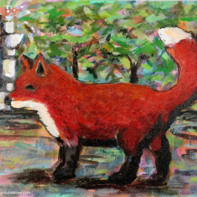 the fox and the fountain