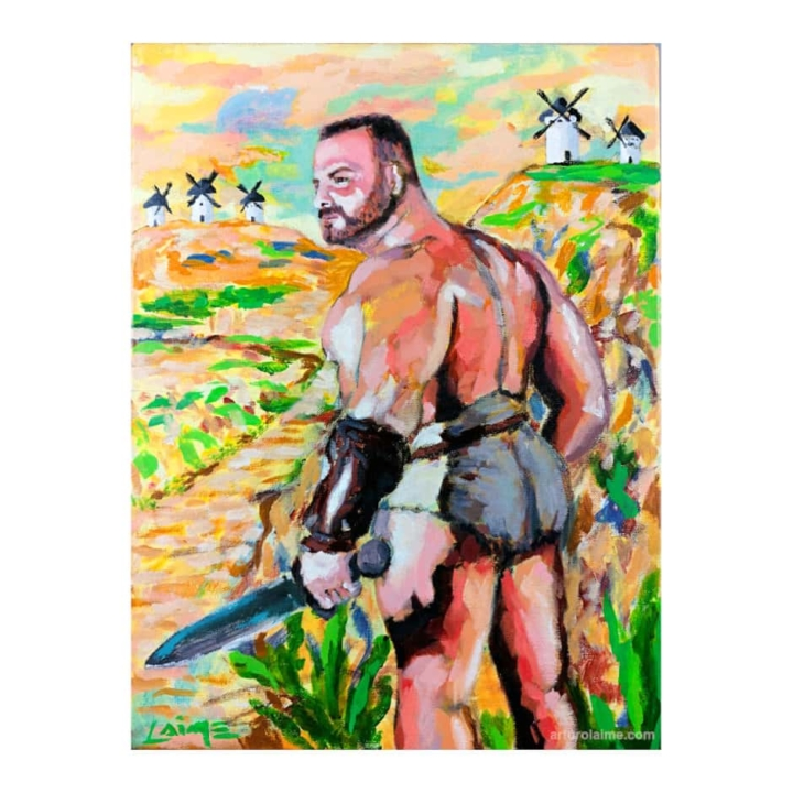 quixote syndrome painting-min