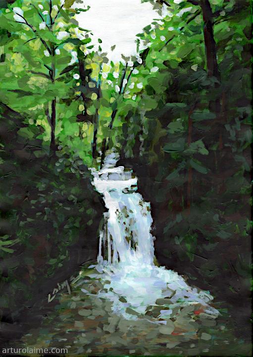 Geroldsauer Wasserfall by Arturo Laime