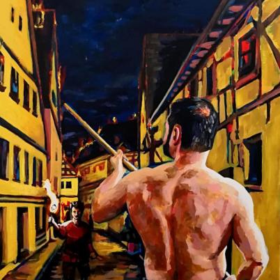 The pyromaniac by Arturo Laime