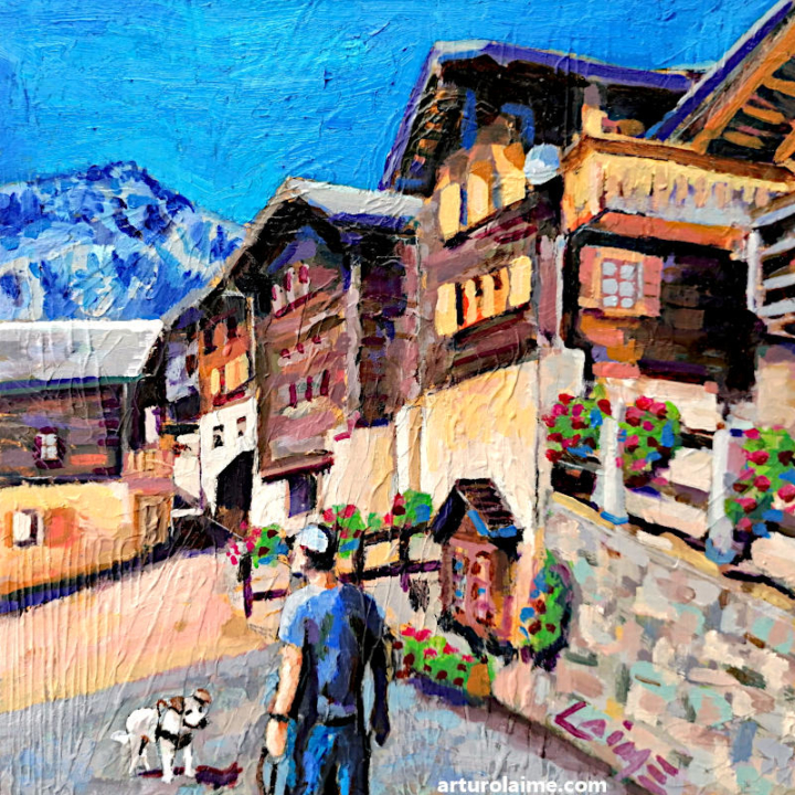 Albinen oil painting by Arturo Laime 800px